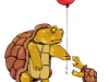 turtlewithballoon